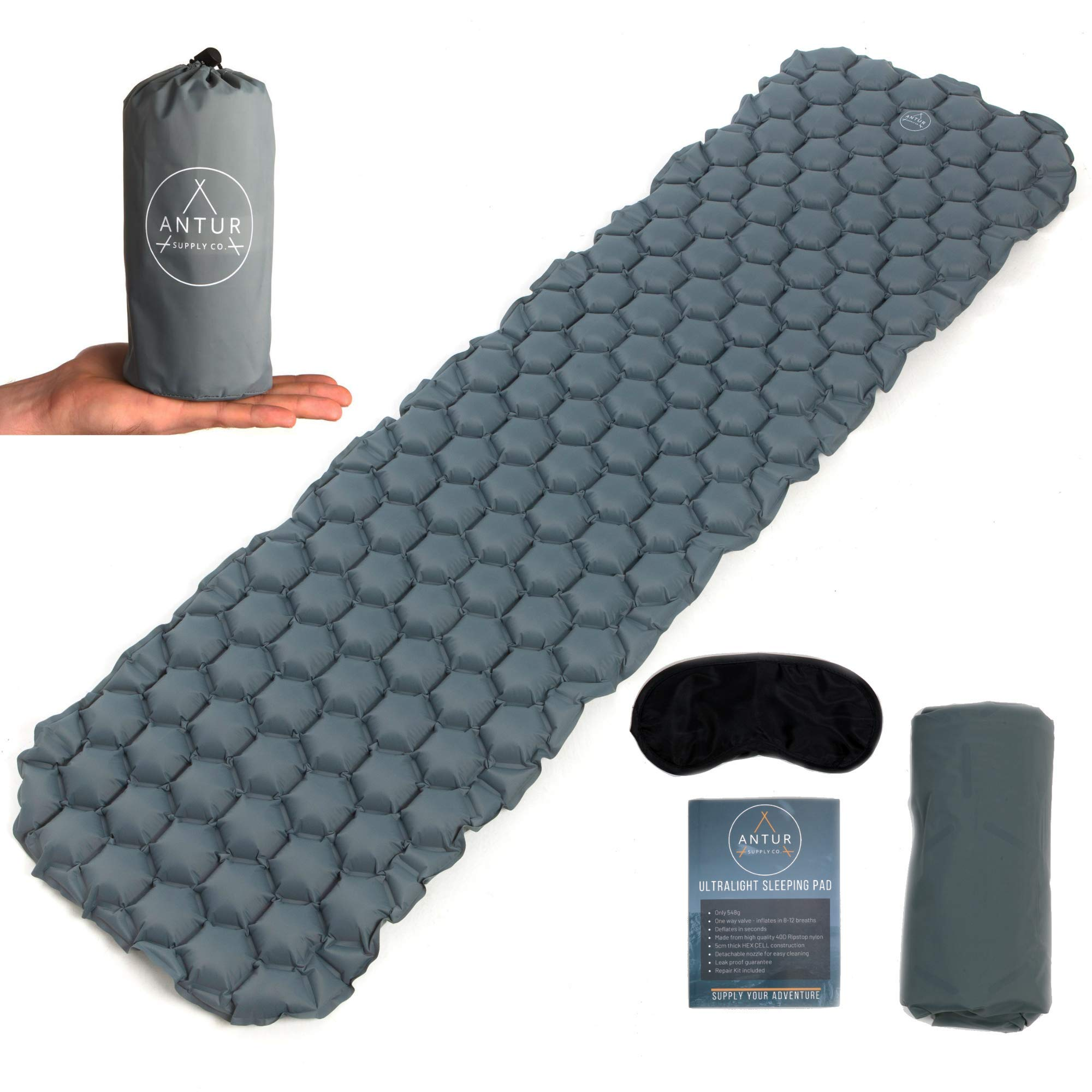 inflatable sleeping mat