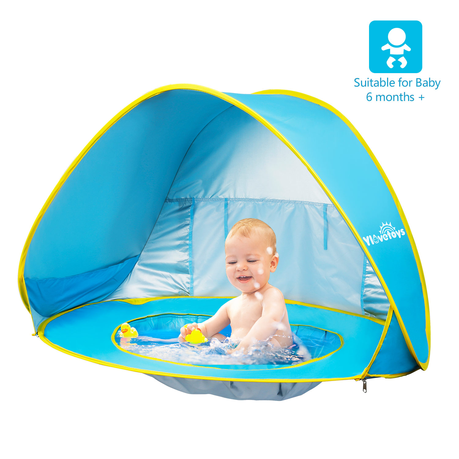 pop up baby beach tent